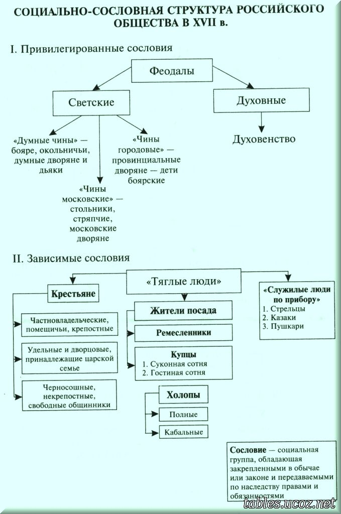 Схема структура российского общества фото 857